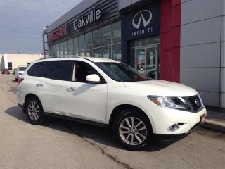 Used 2014 Nissan Pathfinder SL PREMIUM w/ NAVIGATION for sale in Oakville, ON