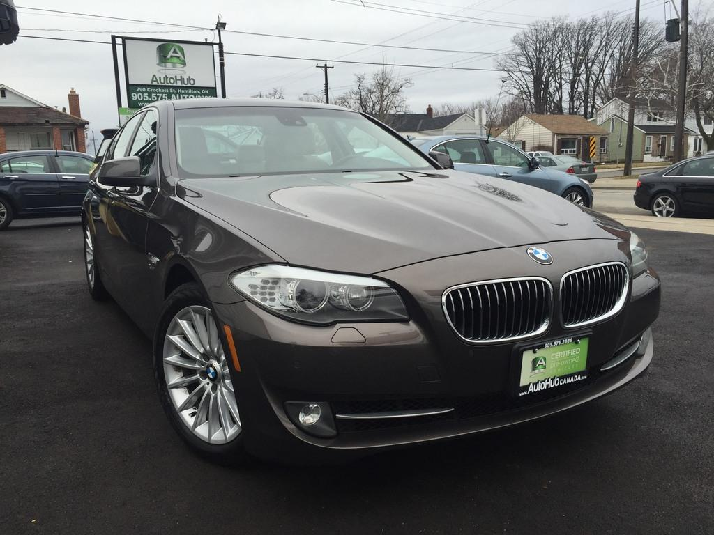 used 2012 bmw 5 series sold for sale in hamilton ontario. Black Bedroom Furniture Sets. Home Design Ideas