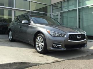 Used 2016 Infiniti Q50 2.0T/AWD/NAVIGATION/SUNROOF/LEATHER/HEATED FRONT SEATS for sale in Edmonton, AB