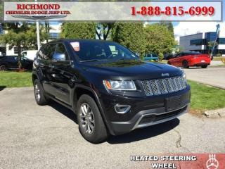 Used 2014 Jeep Grand Cherokee Limited for sale in Richmond, BC