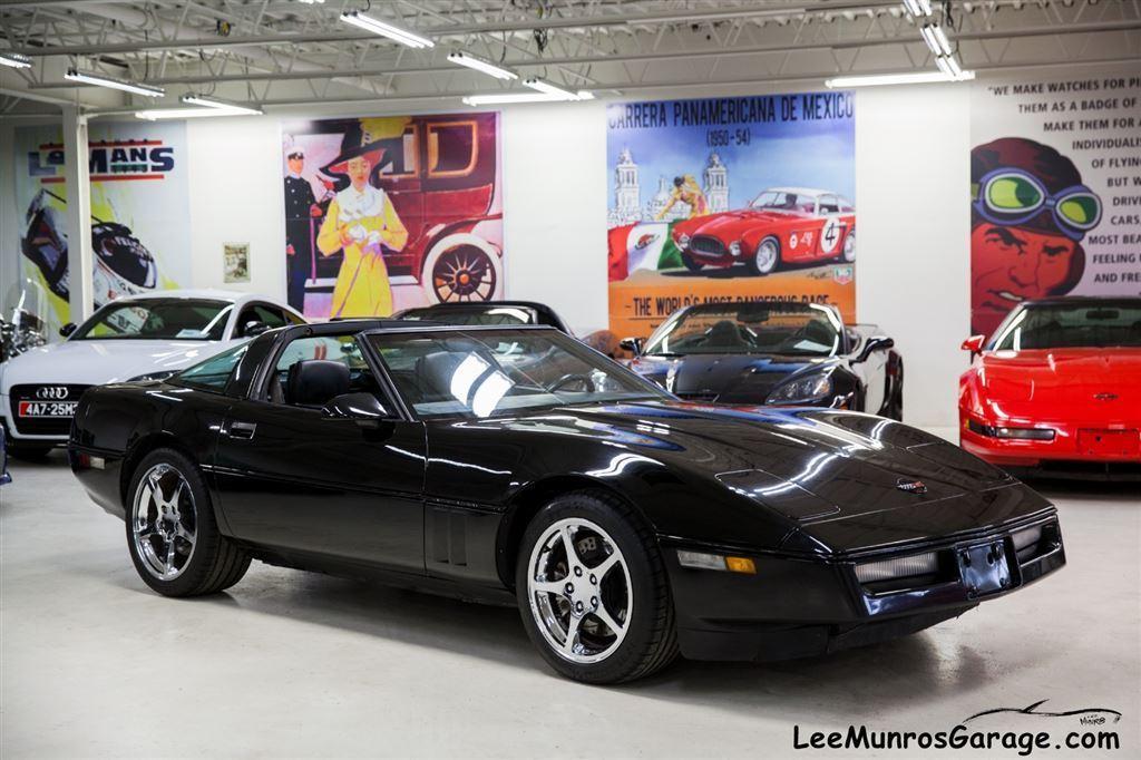Used 1989 chevrolet corvette sold black on black on for Garage mitsubishi paris
