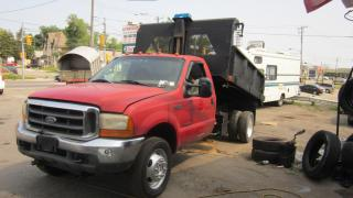 Used 2002 Ford F-550 4x4 11 feet dump for sale in North York, ON