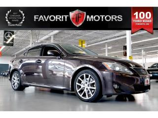 Used 2012 Lexus IS 250 LTHR | SUNROOF | HEATED SEATS | HANDS-FREE CALLING for sale in North York, ON