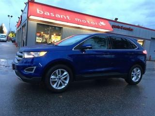Used 2015 Ford Edge SEL, Nav, Low KMs, EcoBoost, Backup Camera! for sale in Surrey, BC