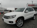 Used 2013 Volkswagen Tiguan - HIGHLINE - NAVI - LEATHER for sale in Oakville, ON