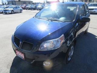 Used 2009 Pontiac Wave WELL EQUIPPED G3 - WAVE MODEL 5 PASSENGER CD/AUX INPUT.. KEYLESS ENTRY.. for sale in Bradford, ON