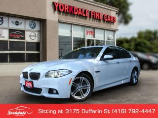 Used 2014 BMW 528 i xDrive M SPORT. NAVIGATION. 360 BACK UP CAM. VERY CLEAN for sale in Toronto, ON