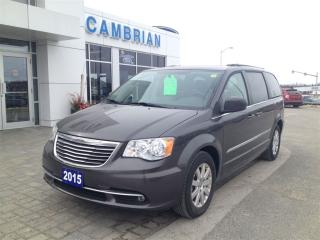 Used 2015 Chrysler Town & Country Touring w/ Stow & Go! for sale in Sudbury, ON