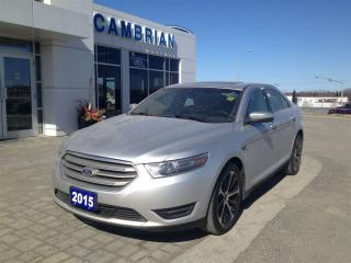 Used 2015 Ford Taurus SEL + Bluetooth & Heated Leather! for sale in Sudbury, ON