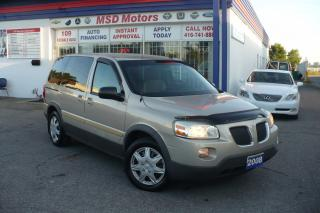 Used 2008 Pontiac Montana SV6  CERTIFIED & E-TESTED CLEAN CAR PROOF for sale in Etobicoke, ON