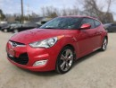 Used 2013 Hyundai Veloster W/TECH   Leather/Cloth   Sunroof   Rear Camera  Navigation for sale in London, ON