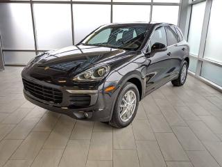 Used 2016 Porsche Cayenne CPO | Ext. Warranty | Keyless | Blind-spot | Heated Front & Rear Seats for sale in Edmonton, AB