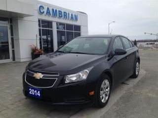 Used 2014 Chevrolet Cruze 1LT w/ Keyless Entry for sale in Sudbury, ON