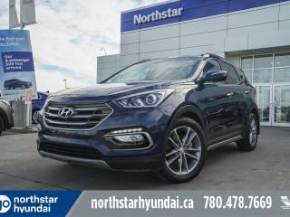 Used 2017 Hyundai Santa Fe Sport LIMITED/NAV/PANOROOF/COOLEDSEATS/LEATHERBSD for sale in Edmonton, AB