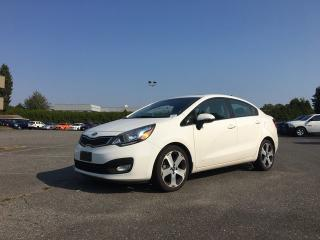 Used 2012 Kia Rio SX + SUNROOF + HEATED FT SEATS + BACK-UP CAM + NO EXTRA DEALER FEES for sale in Surrey, BC