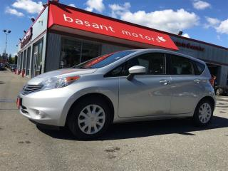 Used 2015 Nissan Versa Note Fuel Efficient, Power Windows/Locks, A/C! for sale in Surrey, BC