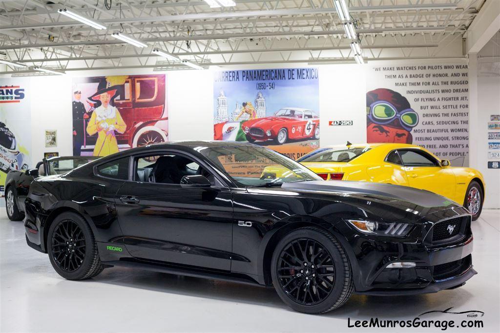Used 2015 ford mustang sold recaro w performance pkg for Garage mitsubishi paris