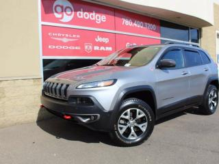 Used 2014 Jeep Cherokee Trailhawk 4x4 / Fully Loaded for sale in Edmonton, AB