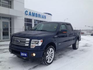 Used 2014 Ford F-150 Limited (LOADED!) for sale in Sudbury, ON