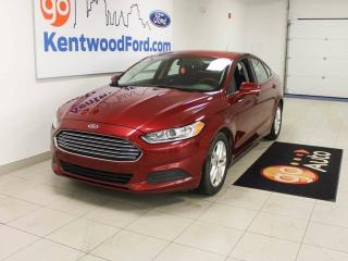 Used 2016 Ford Fusion SE- 2.5L 6-speed- reverse cam for sale in Edmonton, AB