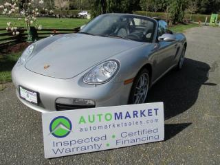 Used 2005 Porsche Boxster BASE for sale in Surrey, BC