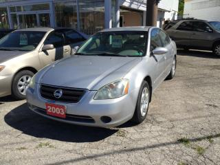 Used 2003 Nissan Altima 2.5S LOW KM SPOILER,ALLOY RIMS for sale in Scarborough, ON