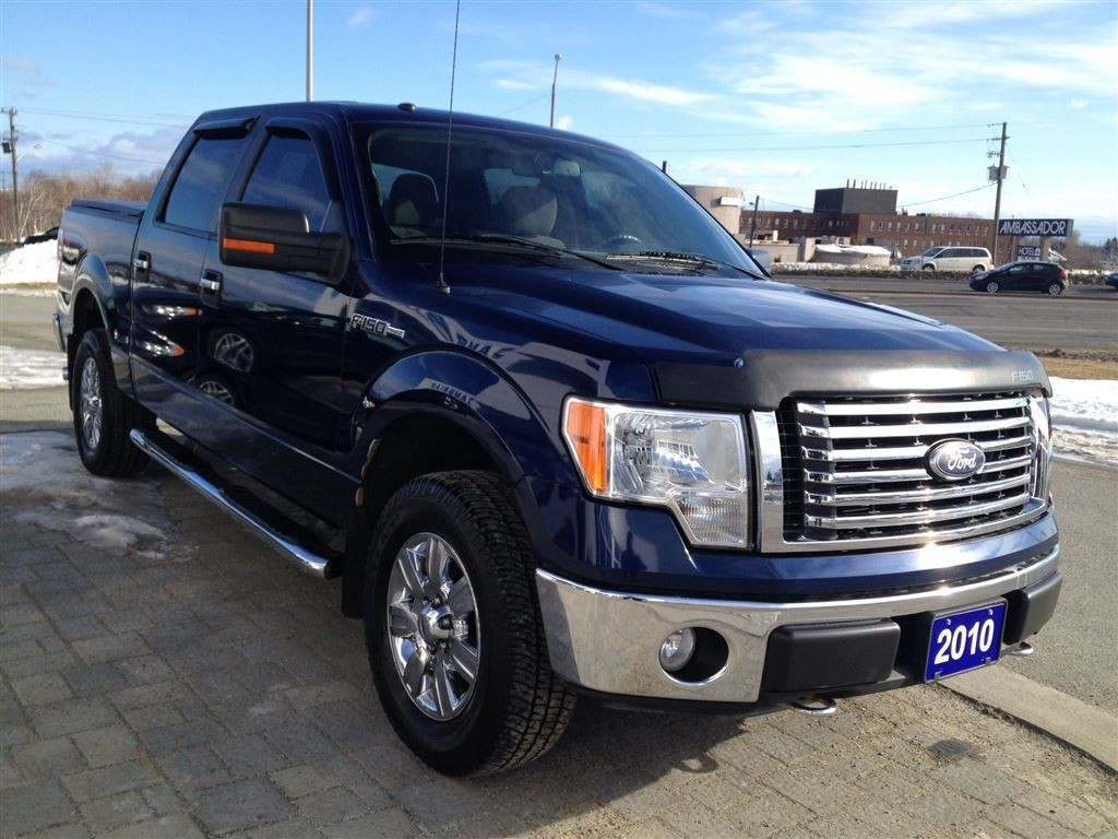 used 2010 ford f 150 xtr w trailer tow package for sale in sudbury ontario. Black Bedroom Furniture Sets. Home Design Ideas