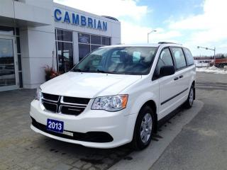 Used 2013 Dodge Grand Caravan SE w/ Power Group! GREAT VALUE! for sale in Sudbury, ON