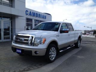 Used 2009 Ford F-150 King Ranch w/ Bluetooth & Trailer Tow Pkg for sale in Sudbury, ON