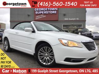 Used 2011 Chrysler 200 Touring CONVERTIBLE|V6|HTD SEATS|POWER GRP|ALLOYS for sale in Georgetown, ON