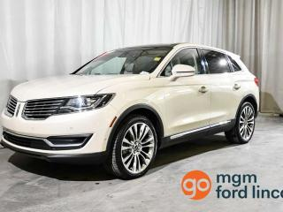 Used 2016 Lincoln MKX RESERVE AWD   HEATED + COOLED FRONT SEATS   HEATED BACK SEATS   HEATED STEERING WHEEL   NAVIGATION   BACKUP CAMERA for sale in Red Deer, AB