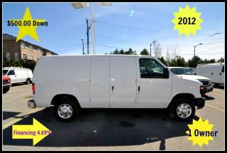 Used 2012 Ford E150 $500.00 Down. Certified. for sale in Aurora, ON