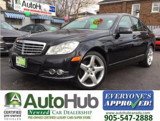 Used 2012 Mercedes-Benz C-Class NAVIGATION-4MATIC-LEATHER-SUNROOF| for sale in Hamilton, ON