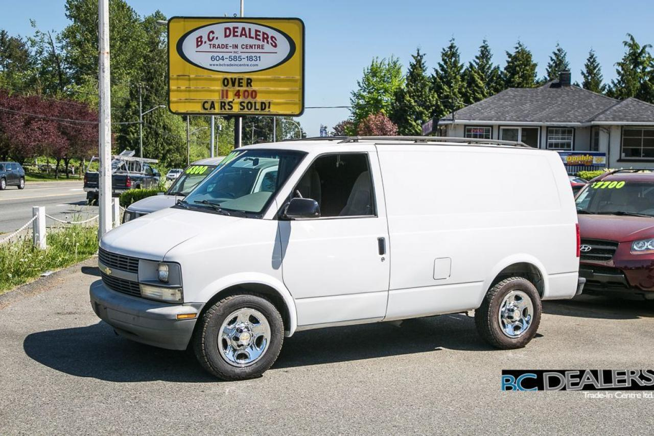 2005 Chevrolet Astro Cargo Van, Shelving, V6, Great Condition!