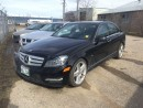 Used 2012 Mercedes-Benz C-Class C350 4MATIC, Nav, Backup Cam, for sale in Winnipeg, MB