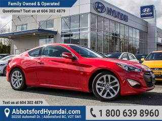 New 2016 Hyundai Genesis Coupe 3.8 Premium for sale in Abbotsford, BC