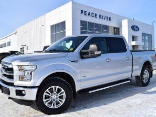 Used 2016 Ford F-150 Lariat 4x4 SuperCrew Cab Styleside 6.5 ft. box 157 in. WB for sale in Peace River, AB