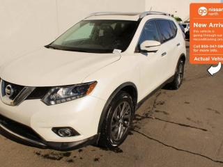 Used 2016 Nissan Rogue SL - NAVIGATION, LEATHER, PANORAMIC SUNROOF for sale in Edmonton, AB