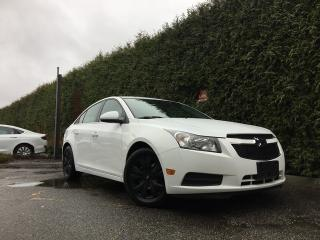 Used 2014 Chevrolet Cruze 1LT + NO EXTRA DEALER FEES + FREE LIFETIME ENGINE WARRANTY for sale in Surrey, BC