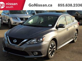 Used 2016 Nissan Sentra SR - HEATED SEATS, VERY LOW KMS, AUTO!! for sale in Edmonton, AB