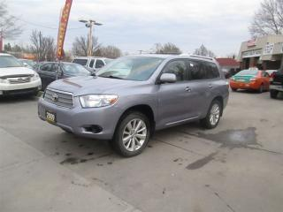 Used 2009 Toyota Highlander HYBRID LOW LOW KM 7 PASSANGER for sale in Scarborough, ON
