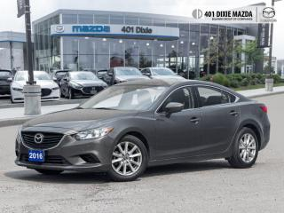 Used 2016 Mazda MAZDA6 GS NO ACCIDENTS| FINANCE AVAILALBE| LEATHER UPHOLS for sale in Mississauga, ON