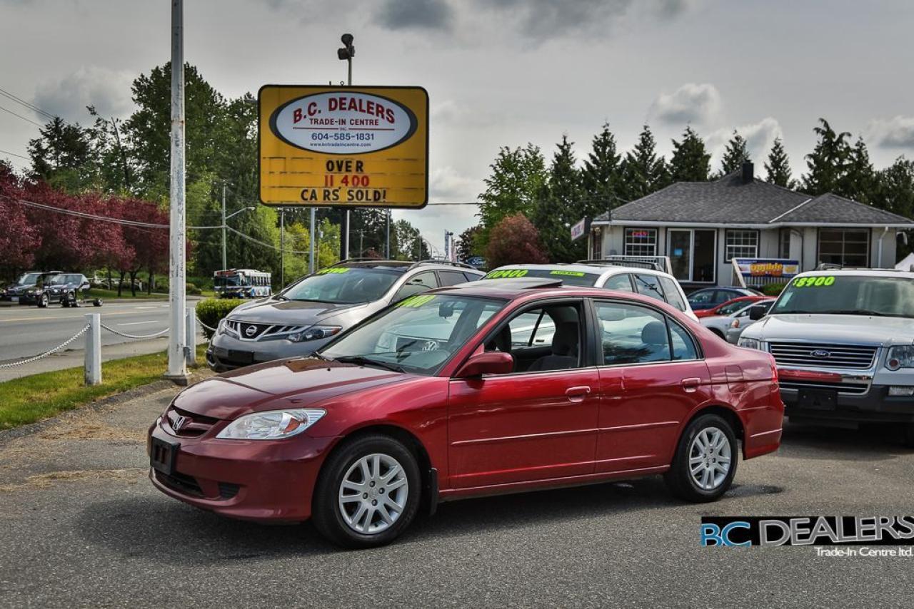 2005 Honda Civic LX-G, Sunroof, Full Power Group, Clean!!
