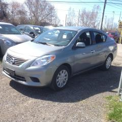Used 2014 Nissan Versa PERFECT FOR UBER-FACTORY WARRANTY FROM NISSAN for sale in Scarborough, ON