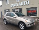 Used 2009 Mercedes-Benz ML-Class 3.0L BlueTEC CERTIFIED & E-TESTED for sale in Hamilton, ON
