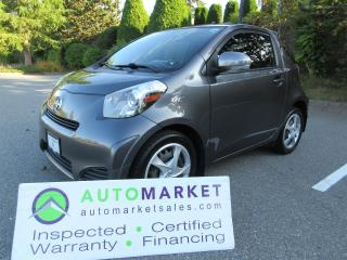 Used 2014 Scion iQ LOCAL, BLUETOOTH, CAMERA, INSP, BCAA MBSHP, FINANCING! for sale in Surrey, BC