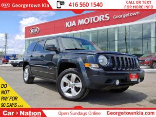 Used 2014 Jeep Patriot North 4WD | NO ACCIDENT| HTD SEATS |ALLOYS |CRUISE for sale in Georgetown, ON