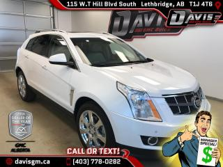 Used 2012 Cadillac SRX Premium-HDD Touch Screen Nav, Vented Leather Seats, Rear DVD for sale in Lethbridge, AB