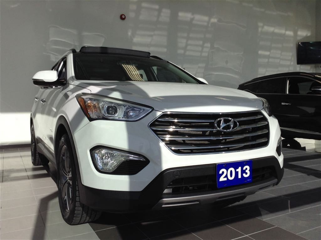used 2013 hyundai santa fe limited for sale in ajax ontario. Black Bedroom Furniture Sets. Home Design Ideas
