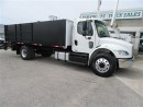Used 2012 Freightliner M2106 diesel with custom 20 ft flat deck for sale in Richmond Hill, ON